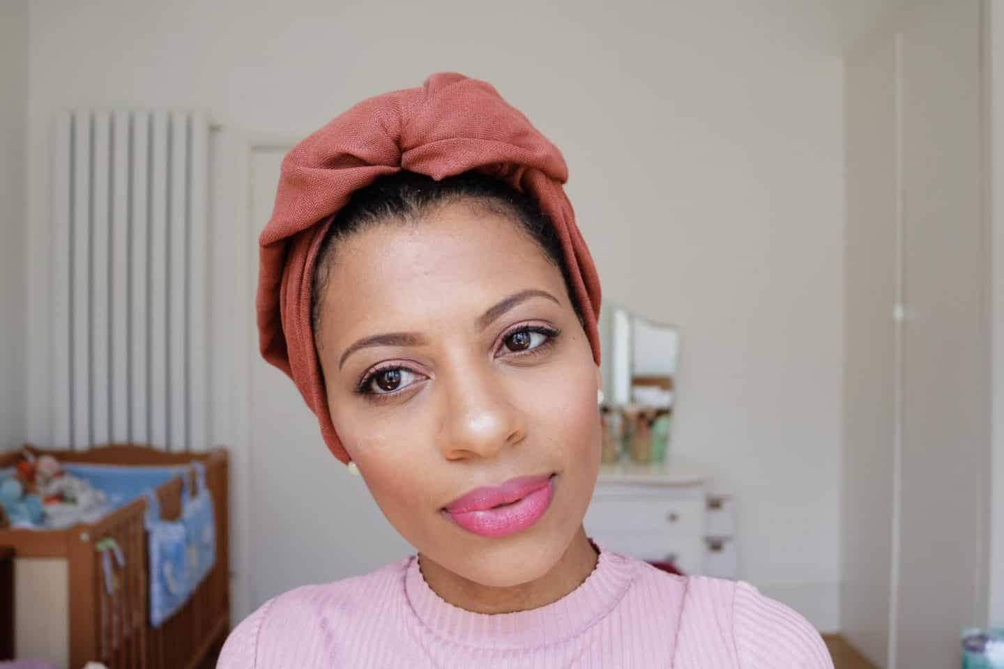 eleanor j'adore - head wrap tutorial
