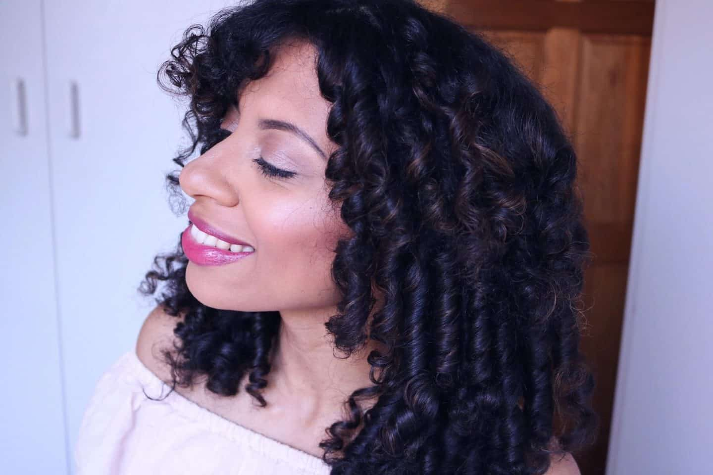 eleanor j'adore - Heatless Curls - Easy, Flexi-rod Set on Natural Hair with Design Essentials