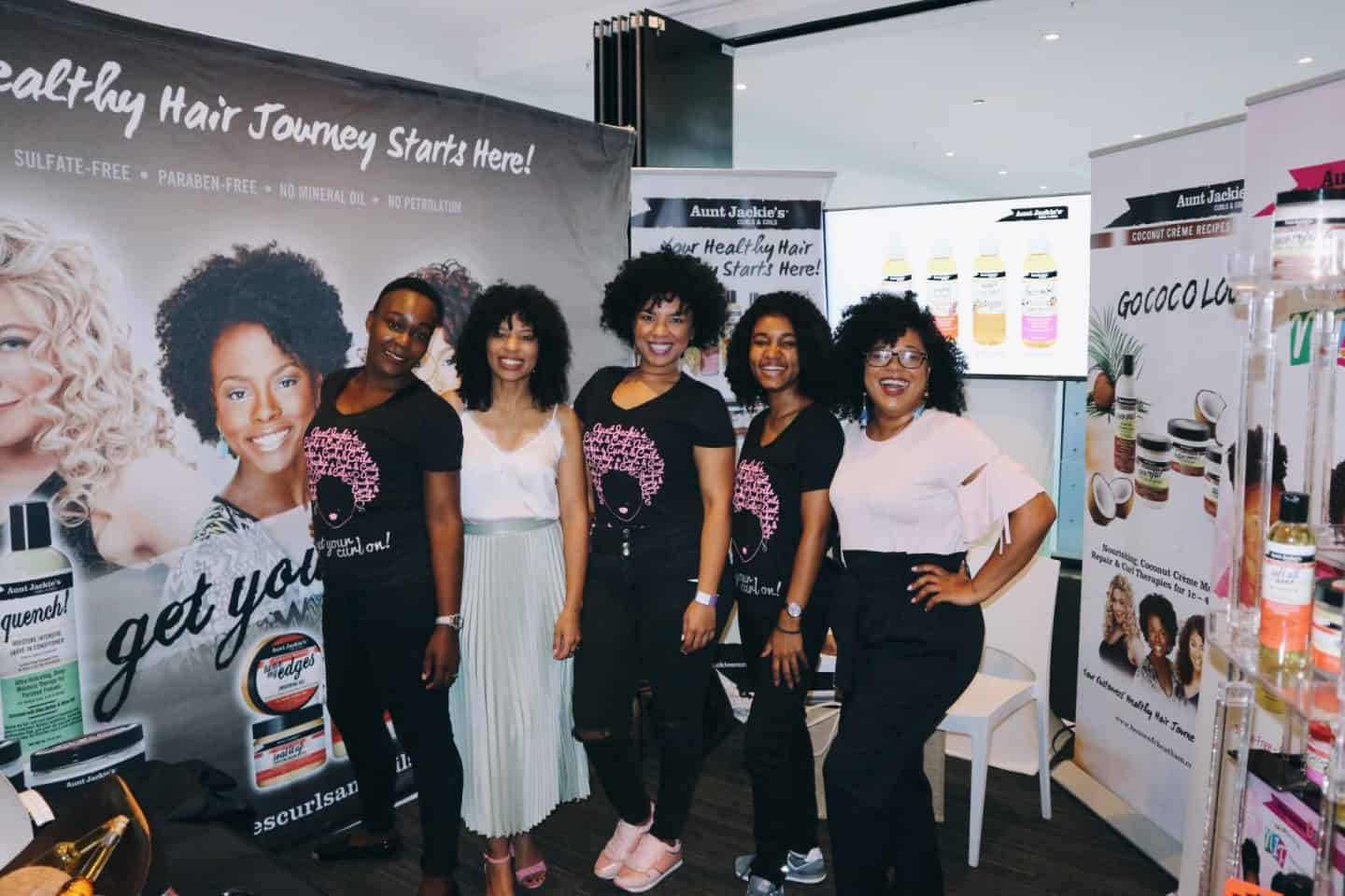 eleanor j'adore: Representing Aunt Jackie's Curls & Coils at Clicks Curls JHB - My biggest brand collaboration to date