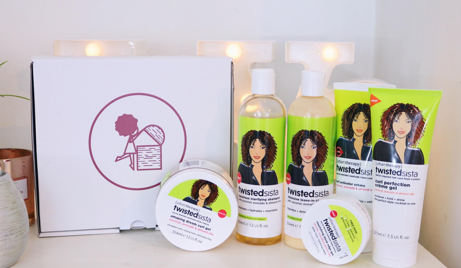 eleanor j'adore - Super quick and easy natural hair style & Twisted Sista Review