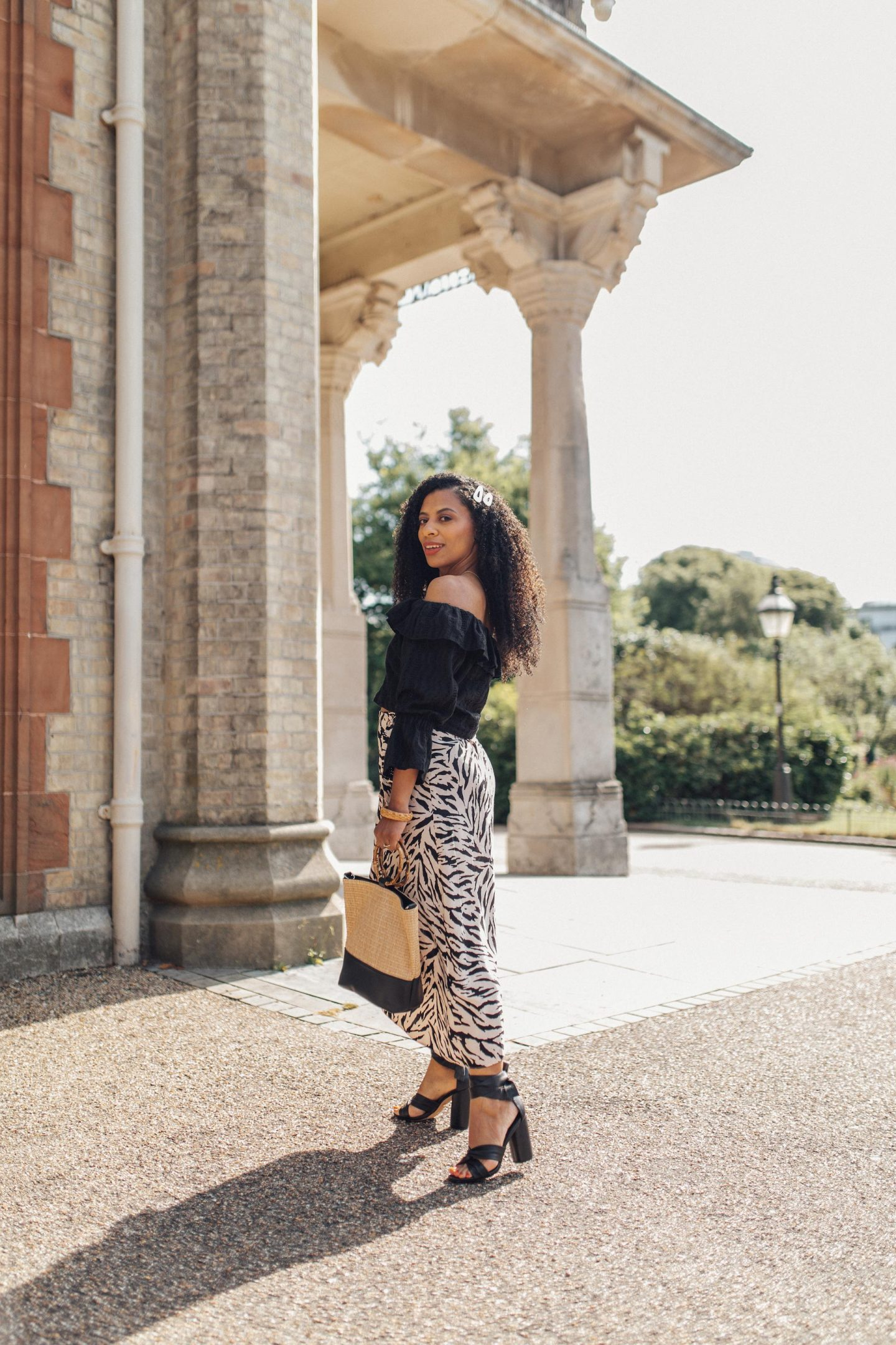 HOW TO STYLE AN ANIMAL PRINT SKIRT